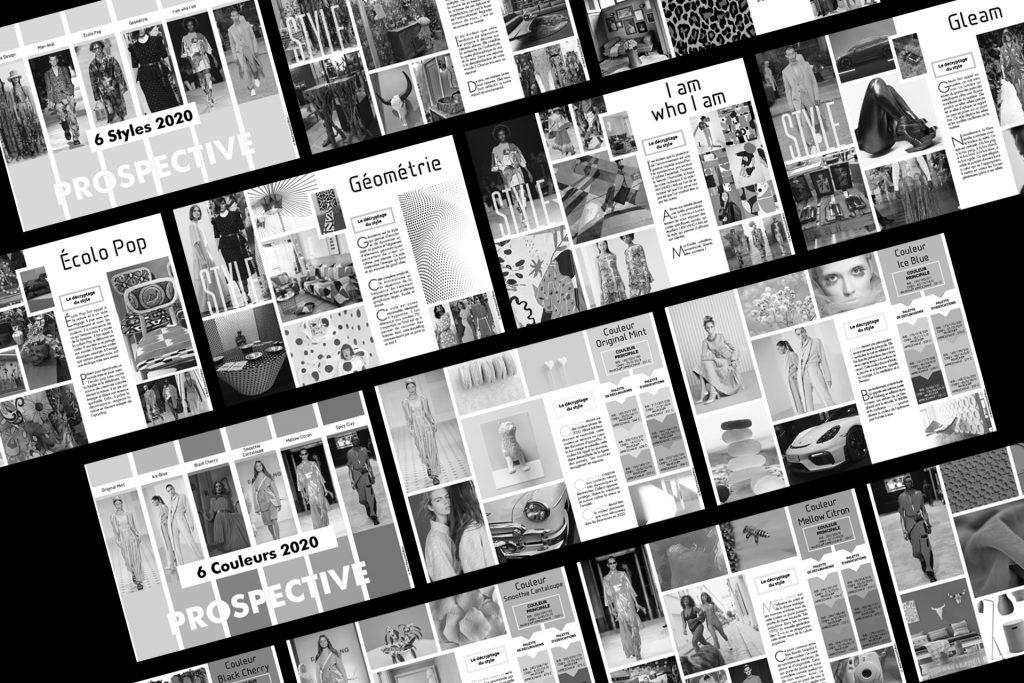 Bureau de style pour un réseau français de plus de 70 sociétés. Anticiper, détecter et analyser les tendances de demain pour éclairer le processus de création produit et création graphique.