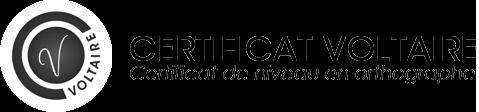 certification Voltaire langue française